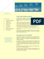 Model INFO pentru angajaţi - profesional