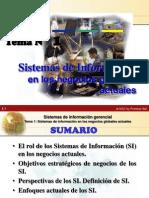 TEMA 1 SISTEMAS DE INFORMACIÓN EN LOS NEGOCIOS ACTUALES2