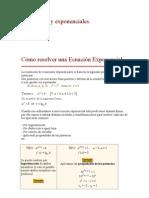 Mas Ejemplos de Ecuaciones Exponenciales