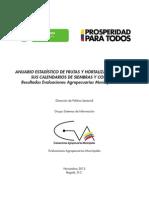 Anuario Estadistico de Frutas y Hortalizas 2011