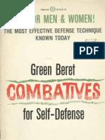 Green Beret Combatives for Self Defense