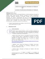 Material Aula 22.11.2012 - Direito Do Trabalho e Processo Do Trabalho