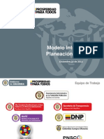 Modelo Integrado de Planeacion y Gestion