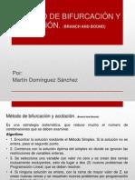 MÉTODO DE BIFURCACIÓN Y ACOTACIÓN
