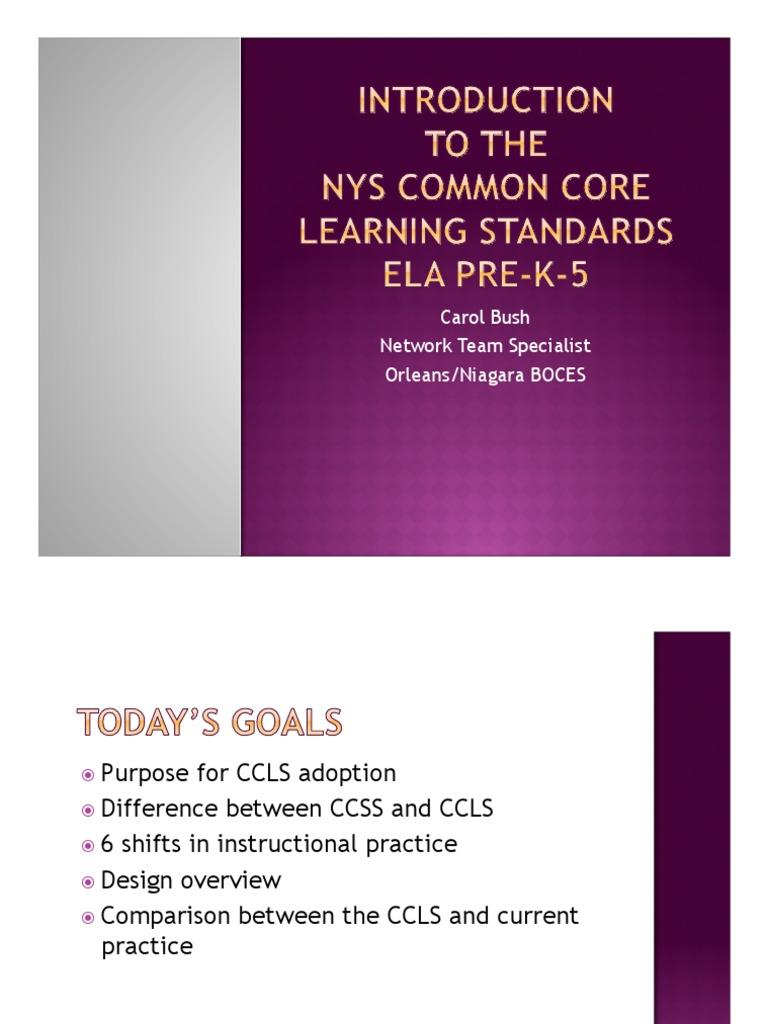 Intro To Ela Ccls Pre K 5 Reading Process Narrative