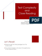 text complexity and close reading2