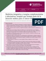medicina integrativa y terapias complementarias
