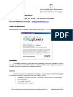 Informática de Concursos - Internet Explorer 9 - 2013 - teoria + 100 questões comentadas www.informaticadeconcursos.com.br