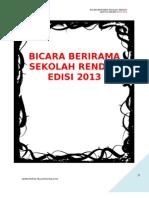 KoAkademik Bahasa Melayu Ren 2013 Bicara Berirama