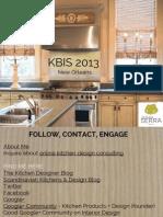 Kitchen Design Trends 2013