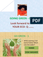 Going Green Quizwithquestions