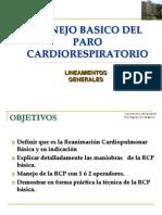 Manejo Basico Del Paro Cardiorespiratorio