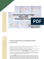 Trigger Finger Report in Beijing