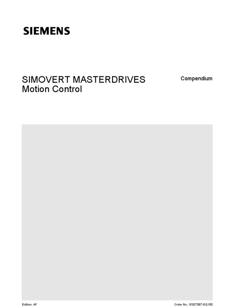 Manual_Master_drive_mc16_kompend_e.pdf | Electrical Engineering | Computing
