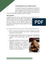 COMPOSICIÓN QUÍMICA DE LA CARNE DE AVES g
