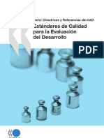 Estandares y Calidad en El Desarrollo de Las Actividades