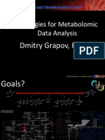 Strategies for Metabolomic Data Analysis