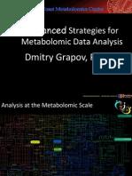 Advanced strategies for Metabolomic Data Analysis