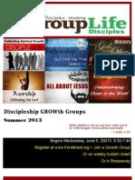 Group Life Catalog.summer 2013