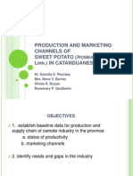 Production and Marketing Channels of Ppt