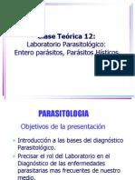 12-Laboratorio en Las Enfermedades Parasitarias