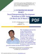 Social Entrepreneurship Diary Jaipur