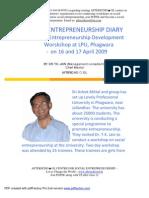 Social Entrepreneurship Diary Phagwara