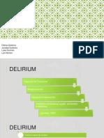 Psiquiatría - Delirium