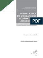ANVISA Biosseguranca Laboratorio Biomedico Microbiologia 2004