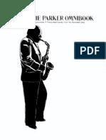 Charlie Parker Omnibook Eb