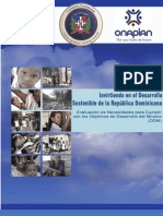 Informe ODM 2005 - Invirtiendo en El Desarrollo Sostenible de R.D]