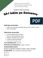 0 1 Proiect Eminescu