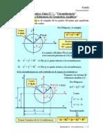 7) Circunferencia