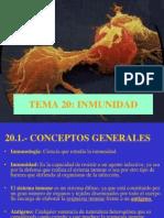 Tema 20.Inmunidad