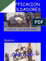 Calificación de Soldadores
