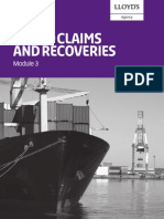 Cargo Claims Recoveries_module 3