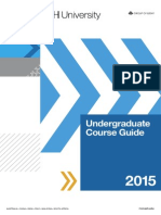 Undergraduate Course Guide 2015