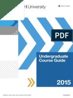 Undergraduate Course Guide 2015