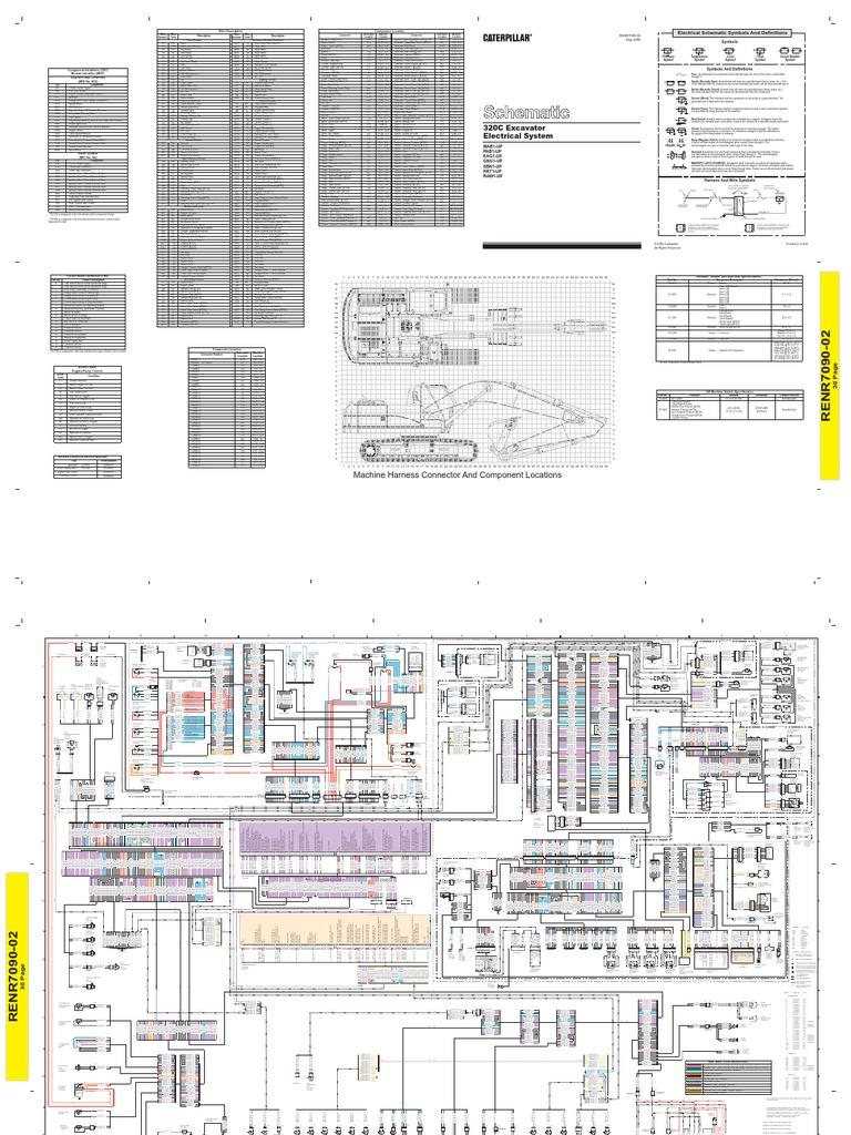 1995 Cat 320 Wiring Diagram Electrical Diagrams Arctic Jet Ski Excavator House Symbols U2022 250