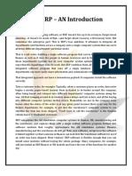 SAP ERP - Introduction