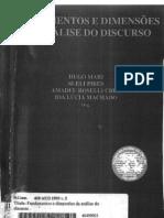 Fundamentos e Dimensões da Análise do Discurso
