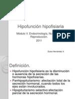 020 - Hipofunción hipofisiaria