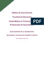 Aprendizaje y enseñanza