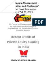 Recent Trends of PE Funding in India.ppt