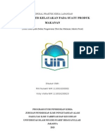 Proposal Praktek Kerja Lapangan Rini