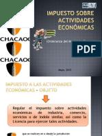 Impuesto a las actividades económicas