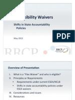 ESEA Waiver Presentation RPTAC