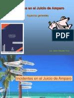 1a Incidentes en El Juicio de Amparo Brev