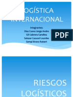 RIESGOS LOGISTICOS