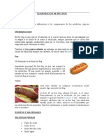 Elaboracion de Hot Dog